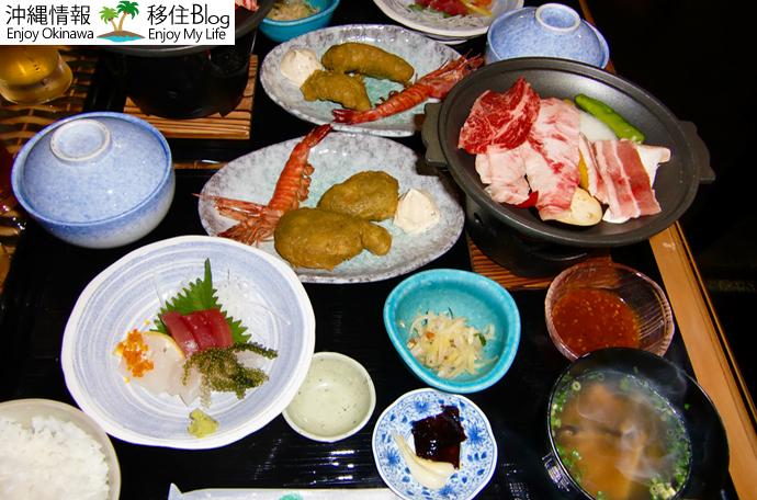ピースアイランド竹富島の食事