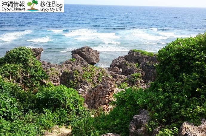 具志川城跡の絶景