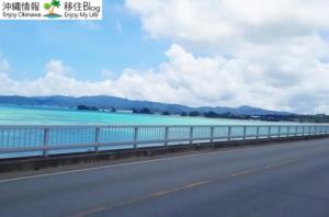 古宇利大橋からの景色