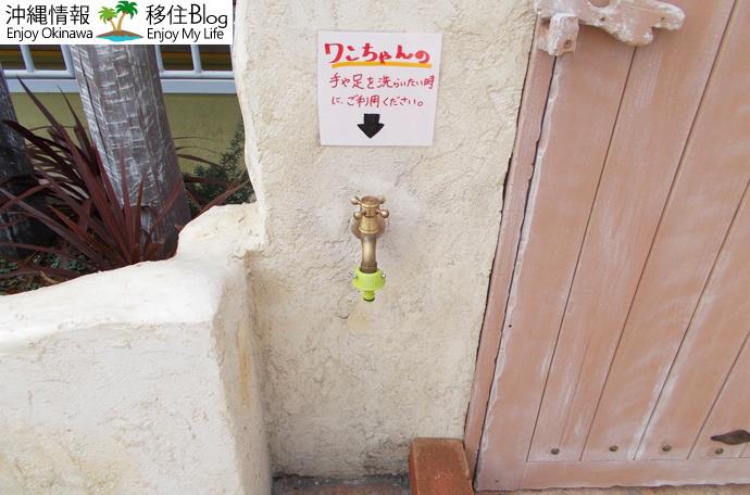 犬用の手足洗い場
