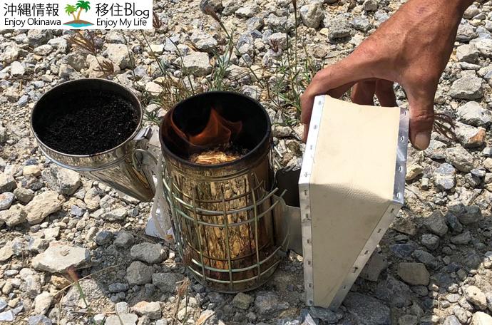 蜂除けの方法