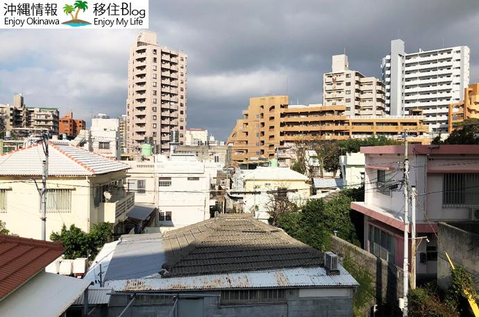国際通りの住宅街