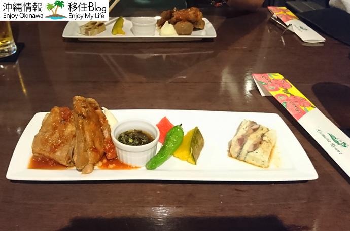 県産食材の前菜3種