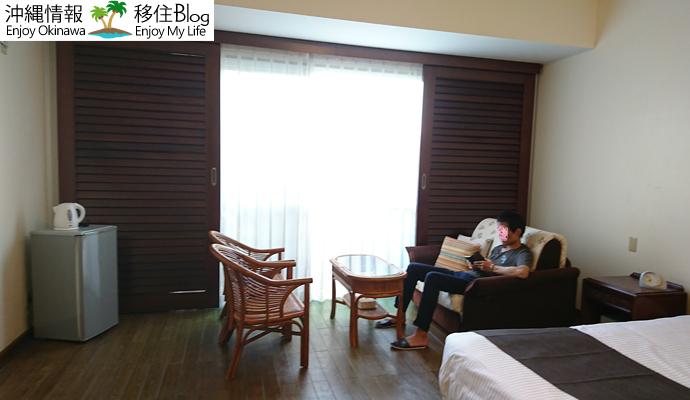 ラ・ティーダ西表島リゾートの室内