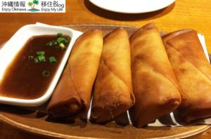 ミャンマー風野菜春巻き