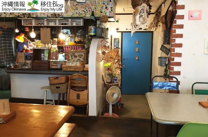 ひょうたんカフェの店内