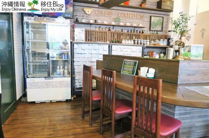 café GARDEN店内