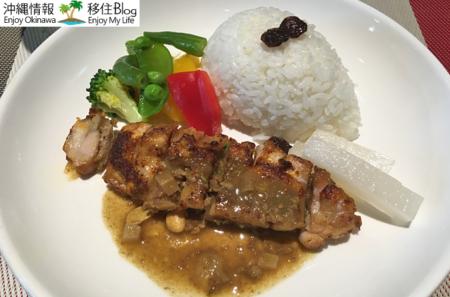 県産豚フィレ肉のクリーム煮
